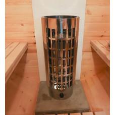 Электрическая печь (электрокаменка) «Сфера» ЭКМ-7 ПУ для сауны и бани, 7кВт